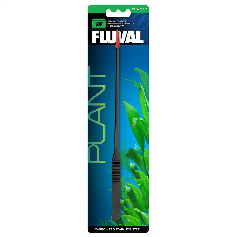 Fluval Planter Forceps Tweezers - 27cm Carbonised Stainless Steel