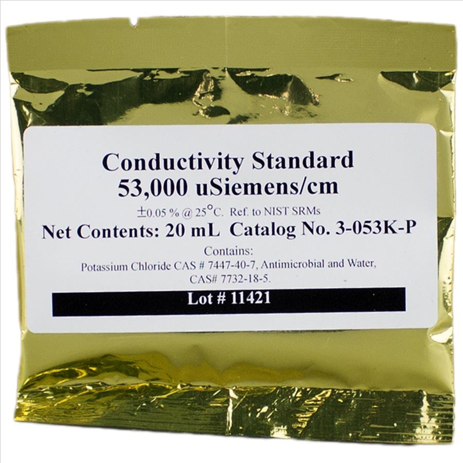 Apex Conductivity Calibration Solution-53.0 mS (Salinity)