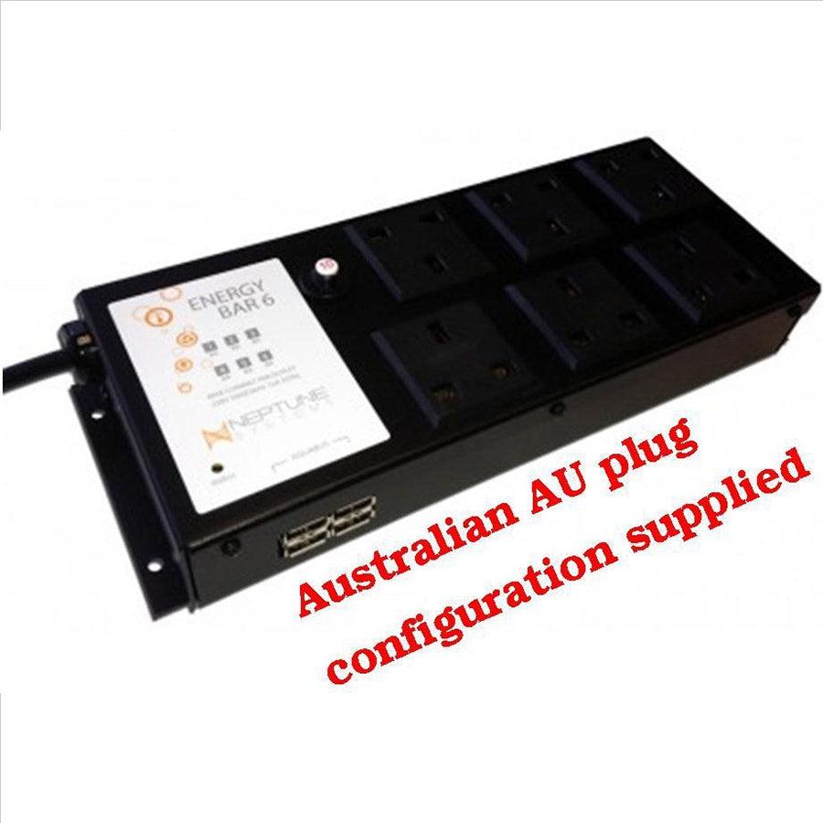 Apex Energy Bar 6 - 240V-AU Plug/Sockets only