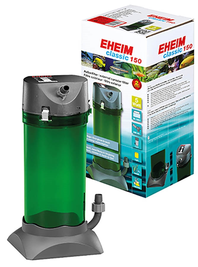 Eheim Classic 150 - 2211 (With Sponge and Bio Media) Canister Filter