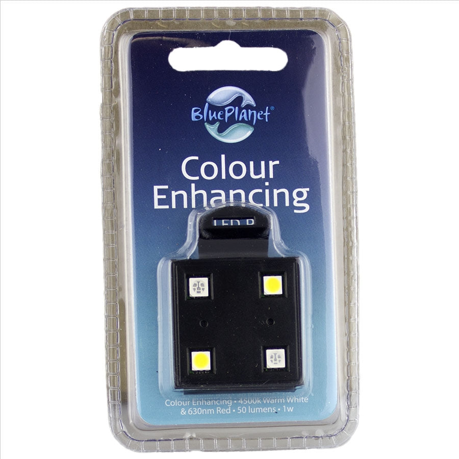 Blue Planet Colour Enhancing LED Red / White POD Module 1w