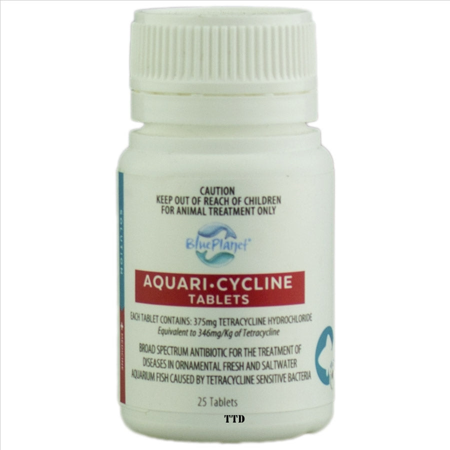 Blue Planet Aquari Cycline - 25 Tablets