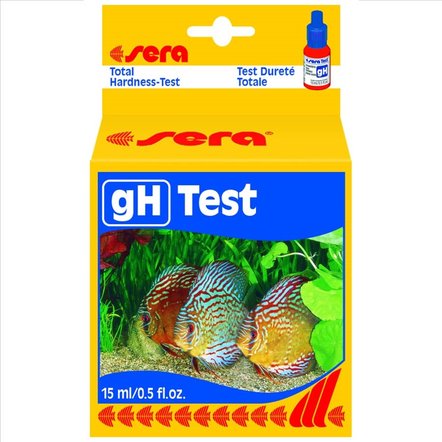 Sera gH Test Kit - for testing water hardness