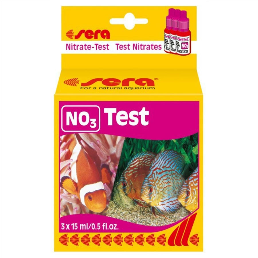 Sera NO3 Nitrate Test Kit - Monitoring Nitrate Levels in Water