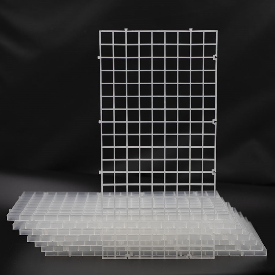 Aquarium Eggcrate White - 60cmx60cm