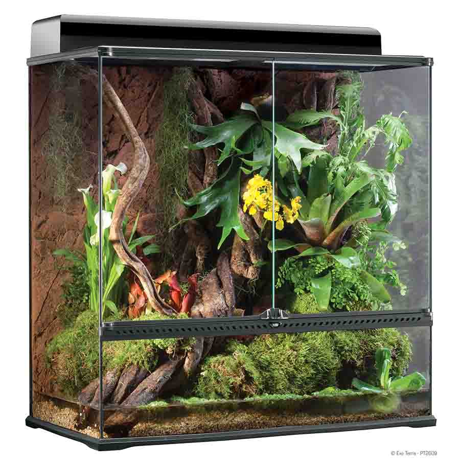 Exo Terra All Glass Extra Tall Terrarium - 90 x 45 x 90cm - PT2609