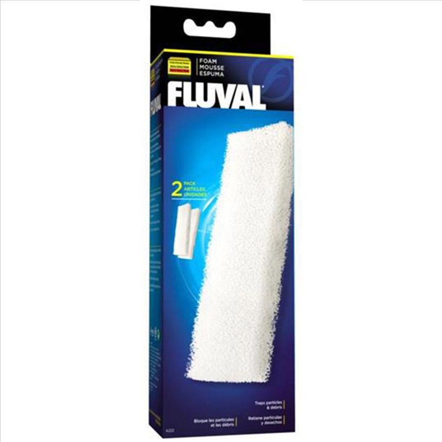 Fluval Foam Filter Block 206, 306 Canister Filters - 2 Pack