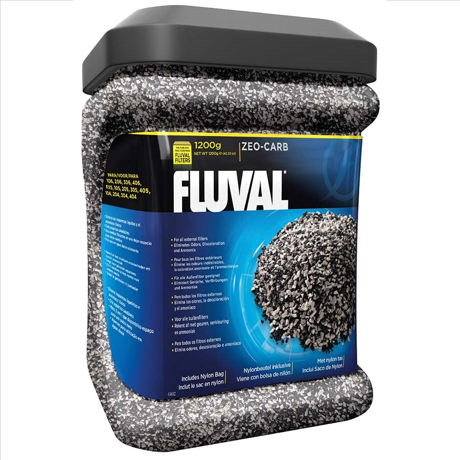 Fluval Zeo-Carb Media 1.2kg - Chemical Filtration
