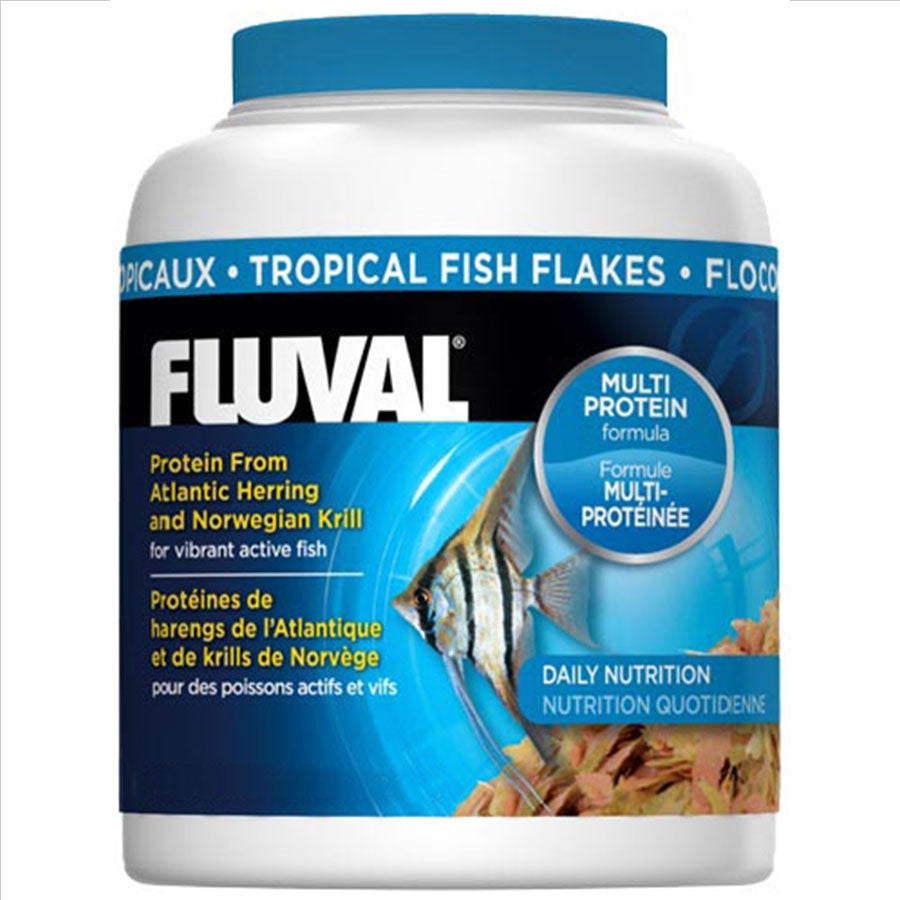 Fluval Tropical Flake 200ml/32g Fish Food