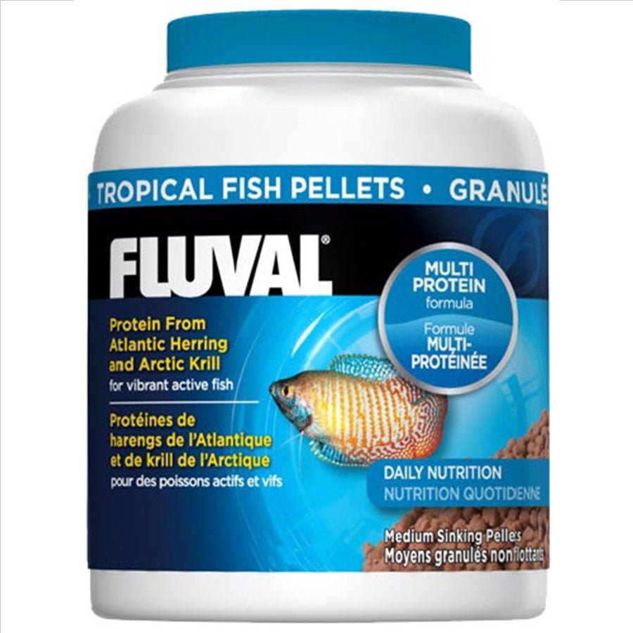 Fluval Tropical Sinking Pellets 200ml/90g Fish Food