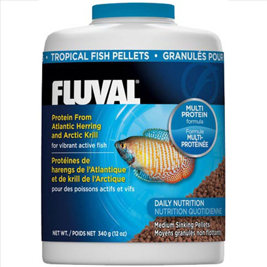 Fluval Tropical Sinking Pellets 750ml/340g Fish Food