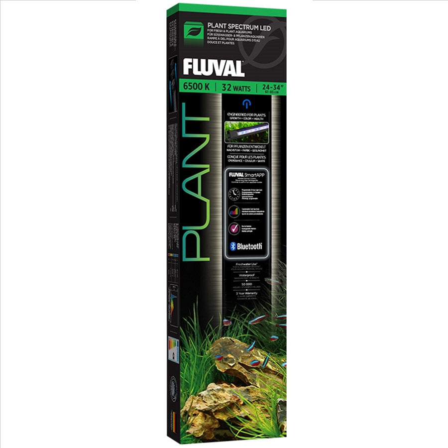 "Fluval Plant Bluetooth 3.0 Full Spectrum 32w LED 61-85cm 24""-34"""