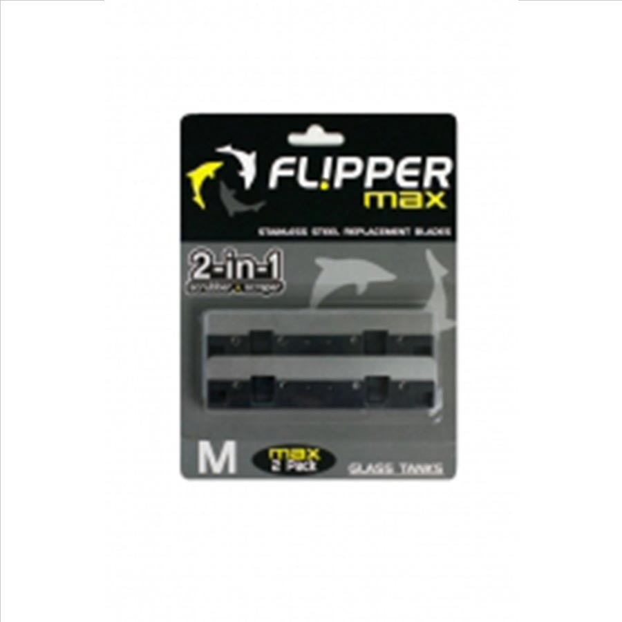 Flipper Replacement SS Blades for Max Flipper (Pack of 2)