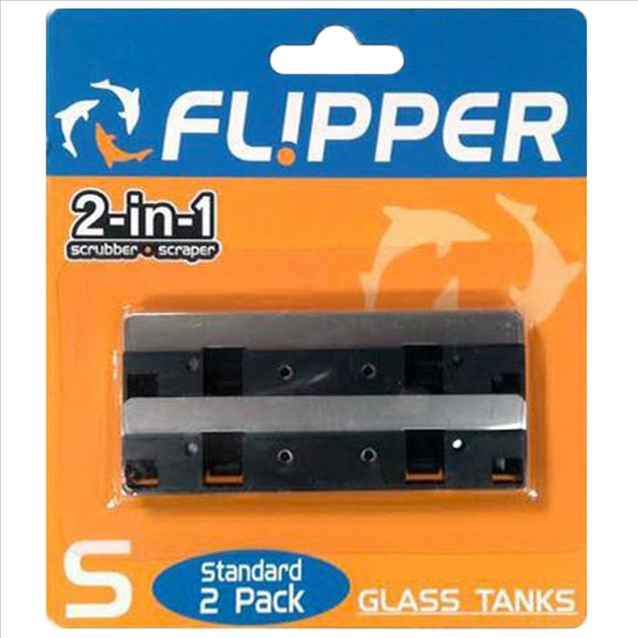 Flipper Replacement SS Blades for Standard Flipper (Pack of 2)