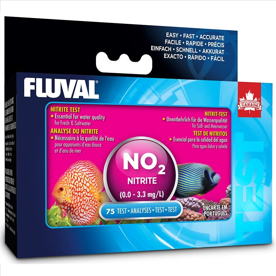 Fluval Nitrite Test Kit (75 tests) Range 0.0-3.3mg/L