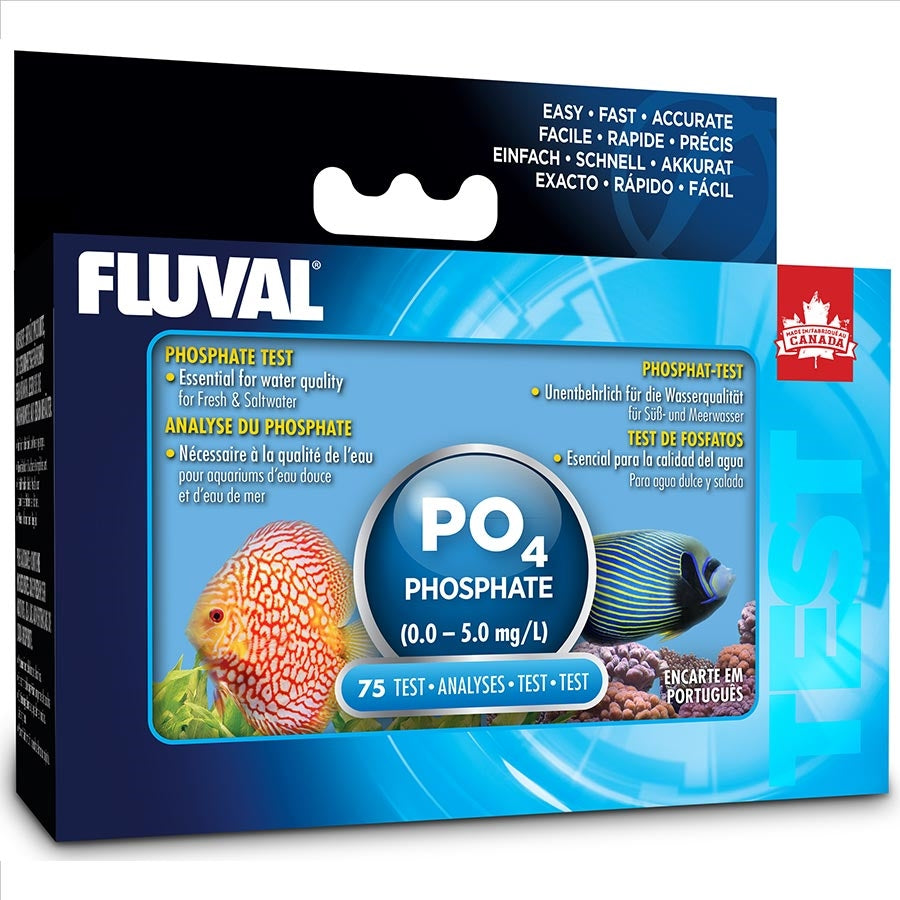 Fluval Phosphate Test Kit (80 tests) 0-5mg/L