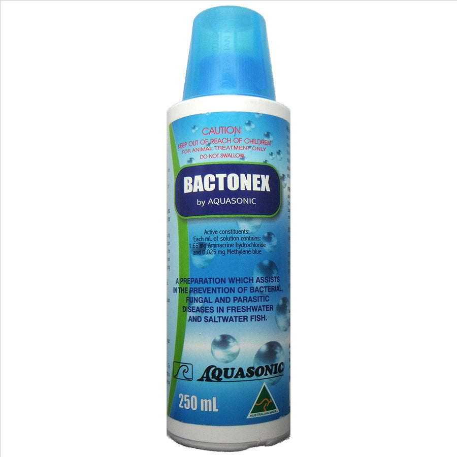 Aquasonic Bactonex 250ml Bacterial Treatment