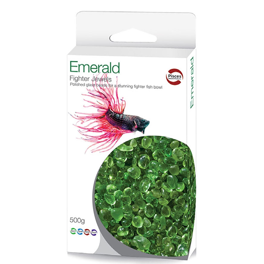 Pisces Emerald 500g Fighter Jewels gravel