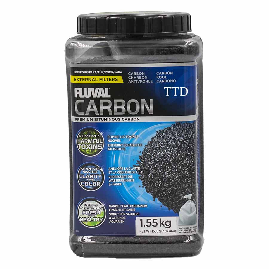 Fluval Active Carbon Media 1550g - Chemical Filtration