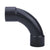 Grey DIN 90 Degree Crescent Moon Elbow 20mm, 25mm, 32mm