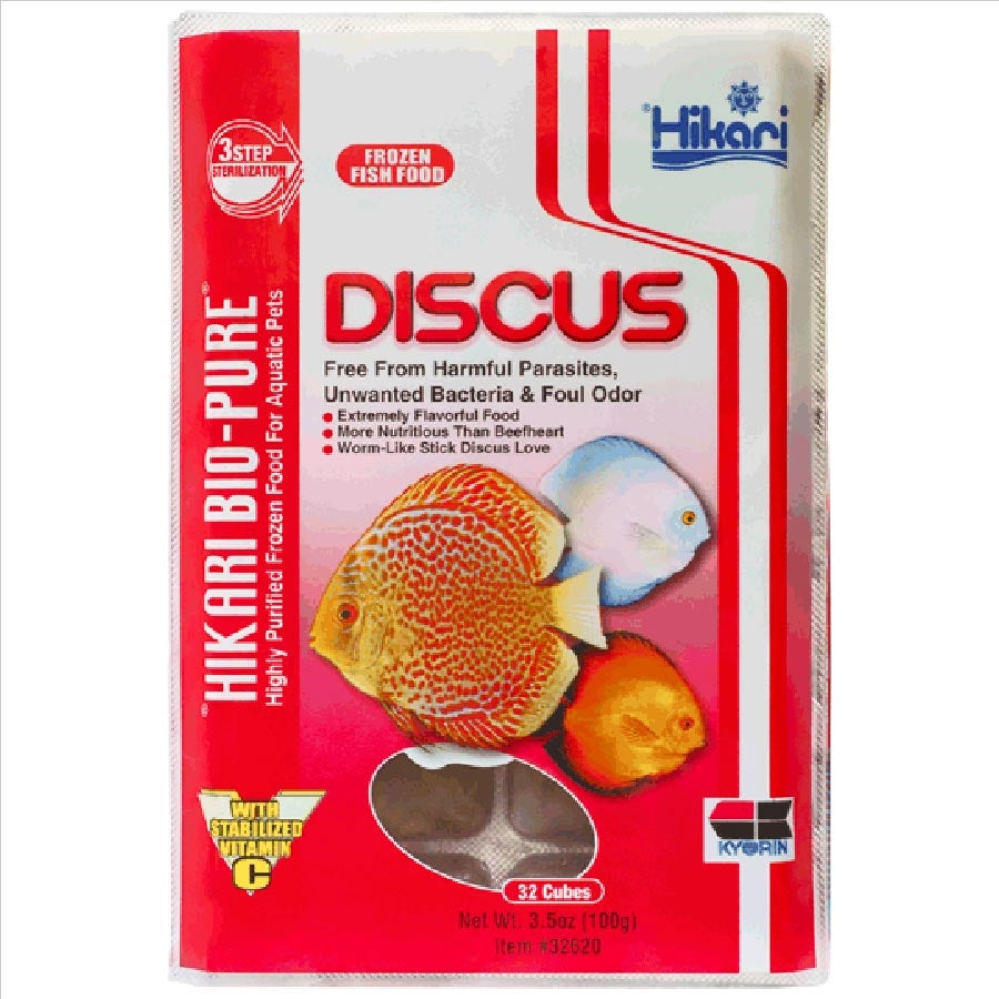 Hikari Bio Pure Discus 100g - 32 Cubes (Frozen - Can not be delivered)