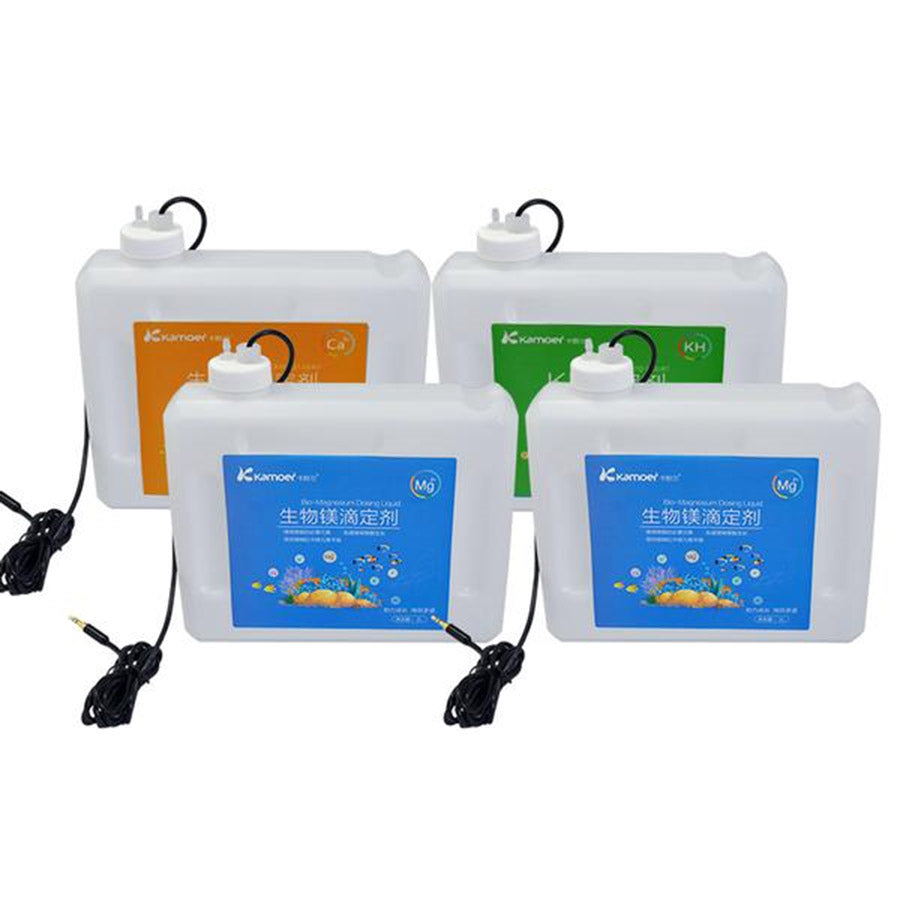 Kamoer 4 Pack of Level Sensing Dosing Containers for the X4 Doser