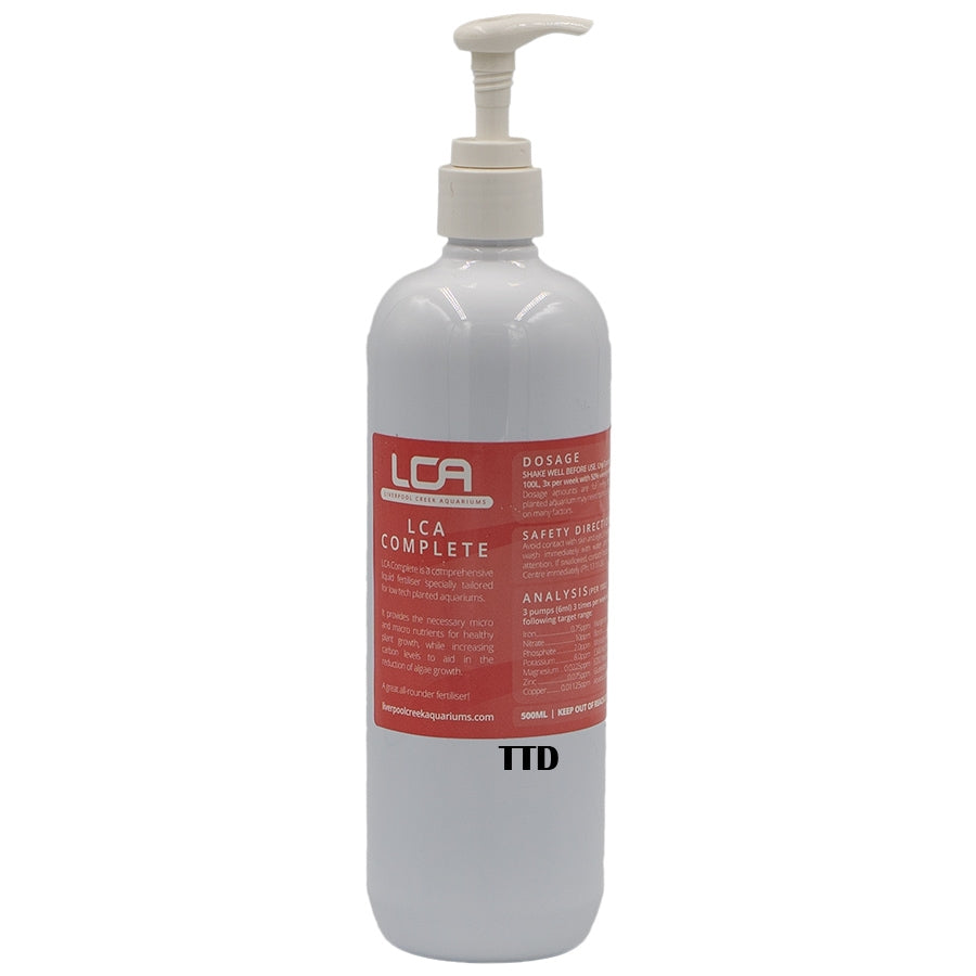 LCA All in One 500ml Complete Liquid Fertiliser - Liverpool Creek Aquariums