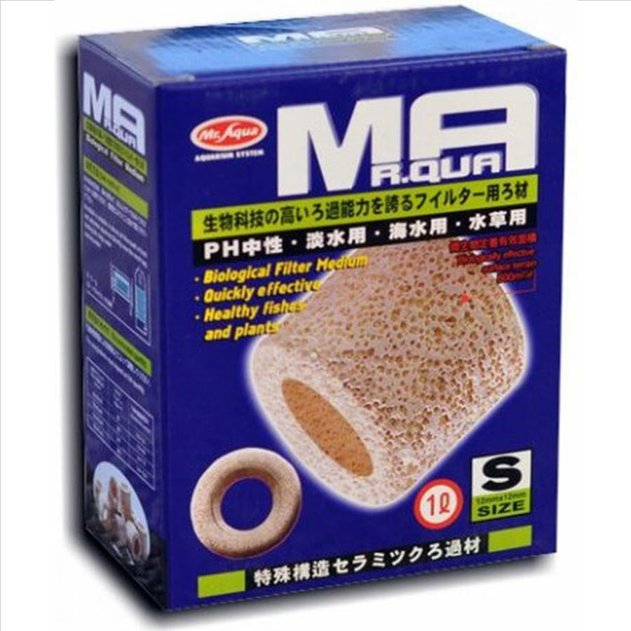 Mr Aqua Porous Ceramic Rings Small 1 liter