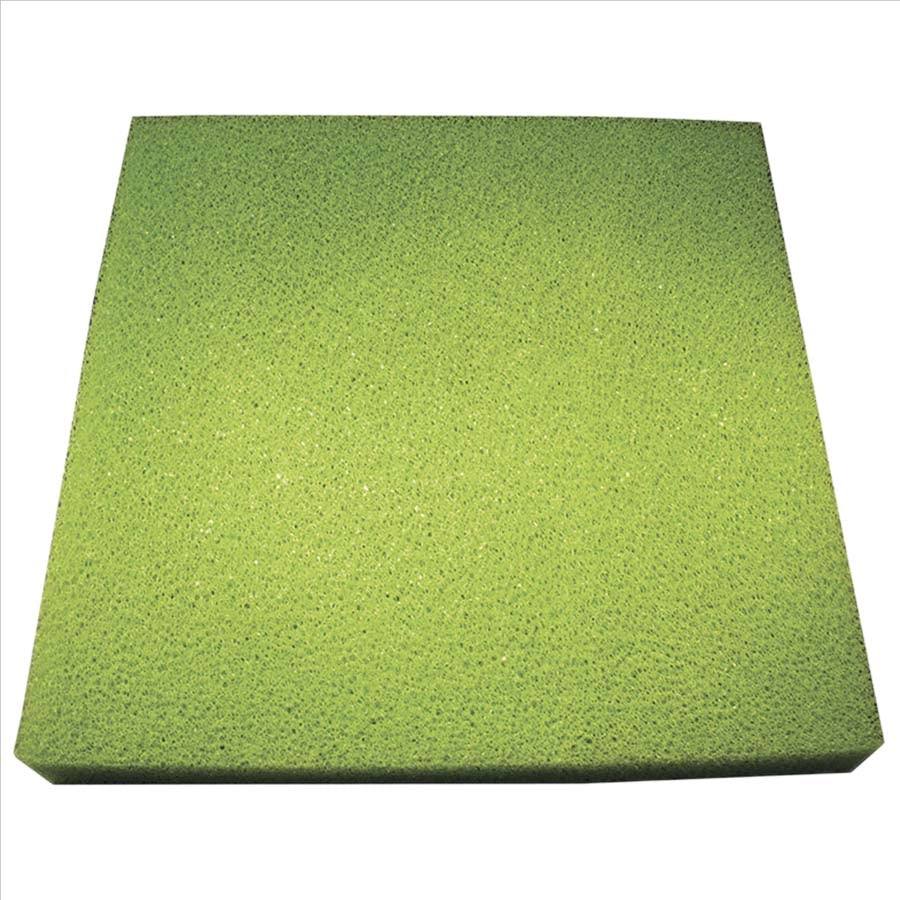 Sponge Sheet Green 38cm X 38cm X 5cm - Coarse