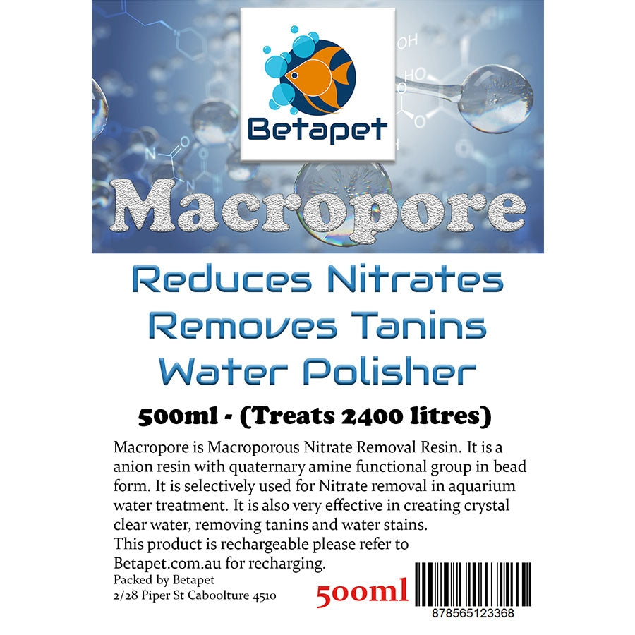 Betapet Macropore 500ml Aquarium Water Conditioner