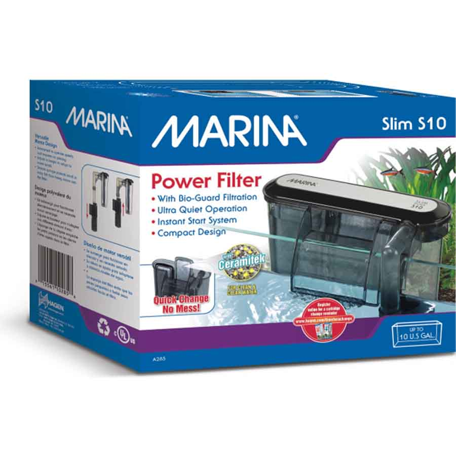 Marina S10 Hang on Filter for Tanks up to 40 Litres
