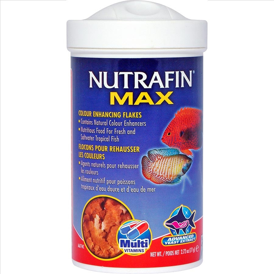 Nutrafin Max Tropical Colour Enhance Flakes - 77g