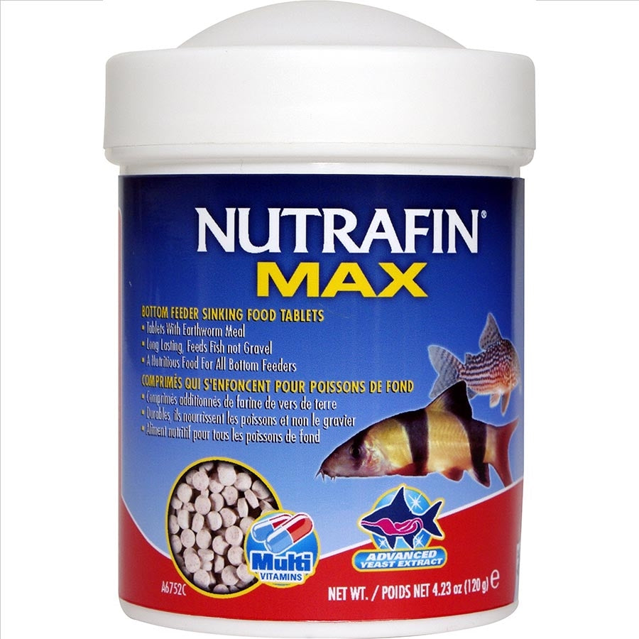 NUTRAFIN MAX Bottom Feeder Sinking Tablets 120g