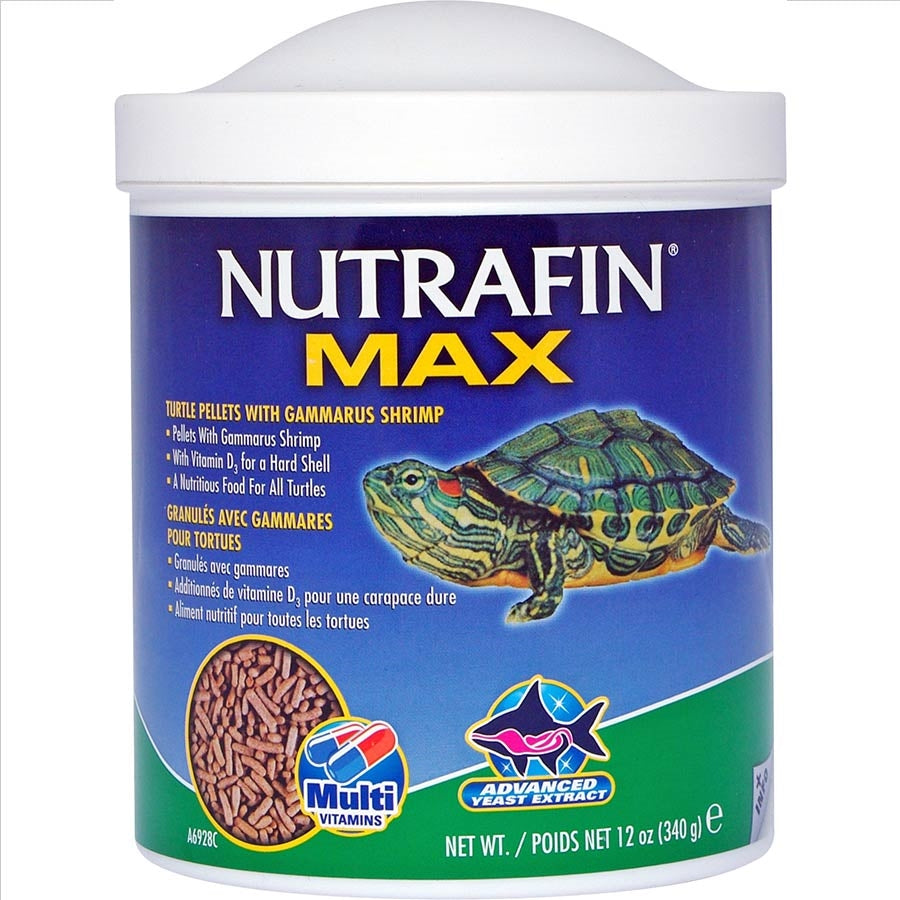 Nutrafin Max Turtle Pellets With Gammarus Shrimp 340g