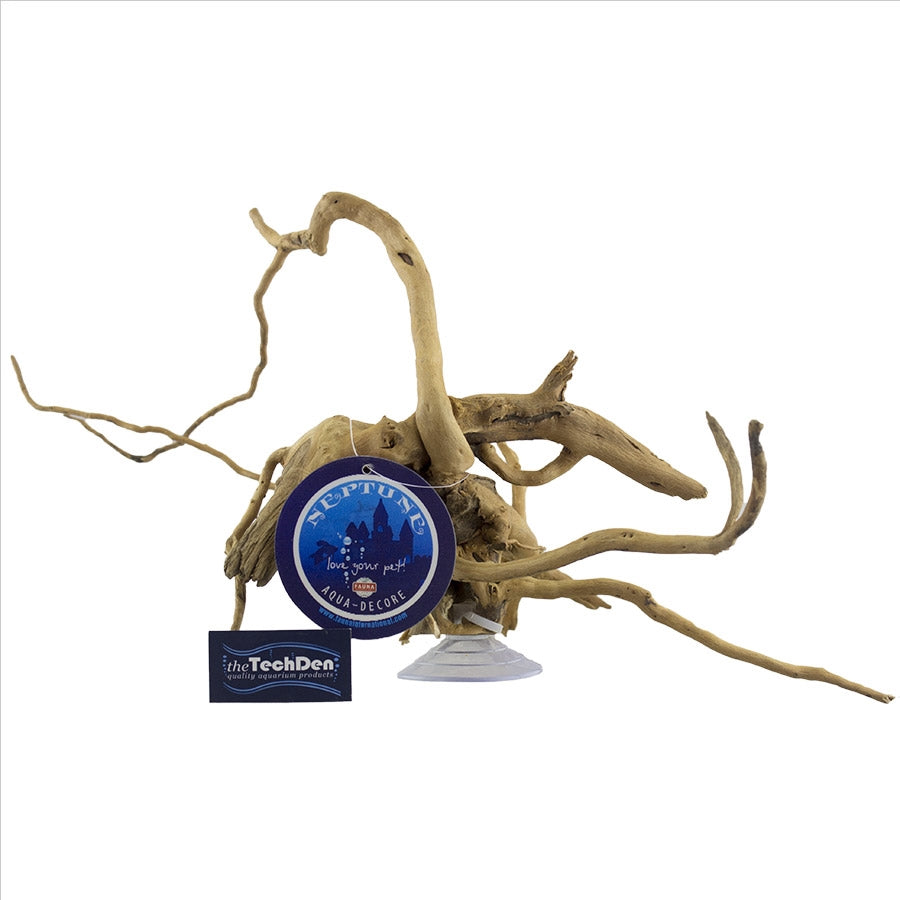 Natural Wood Gold Vine Medium 20-30cm with Suction Cup