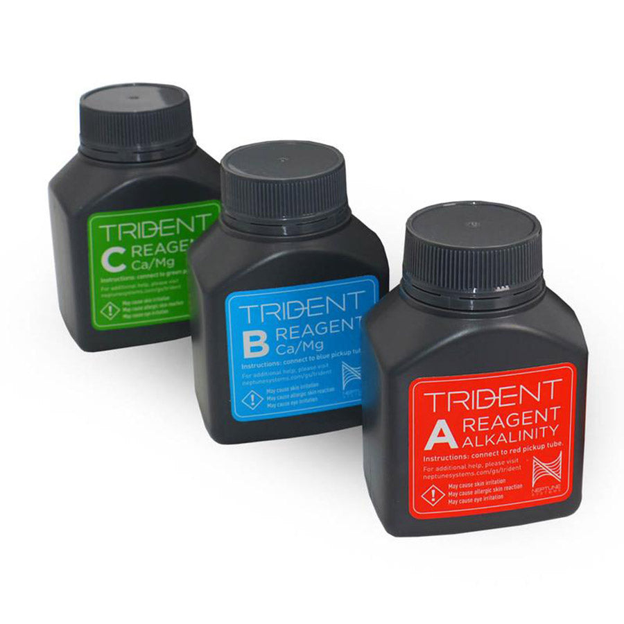 Neptune Systems Apex Reagent Kit Bottles A,B and C - call us to order