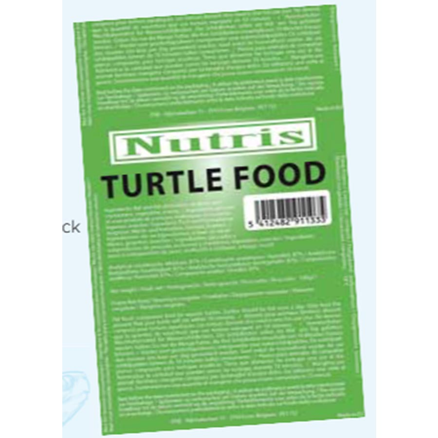 Nutris Frozen Turtle Food Blister Pack 100g Cubes (Frozen - Can not be delivered)