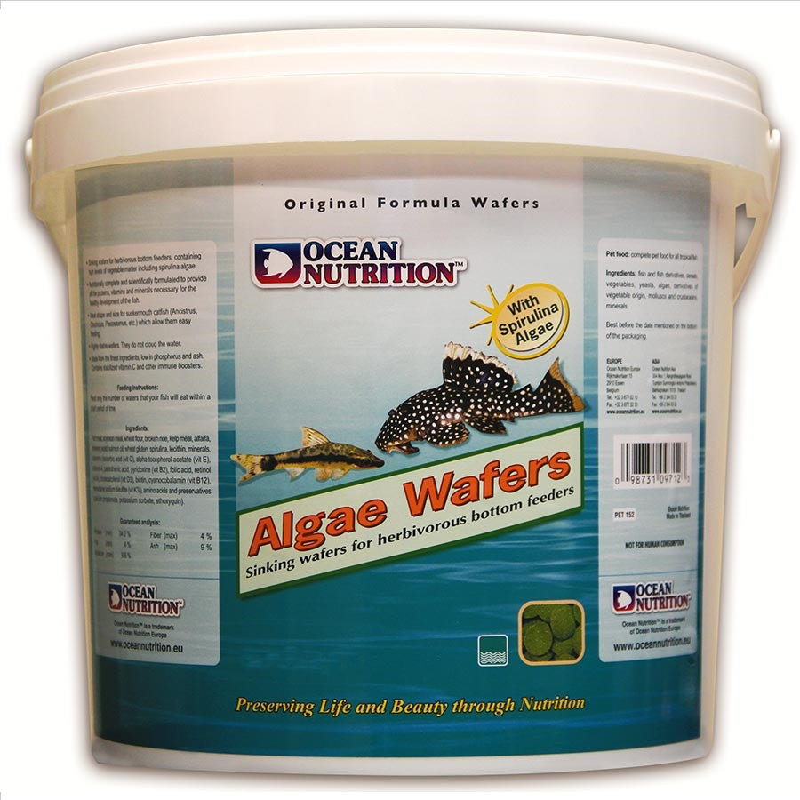 Ocean Nutrition Algae Wafers 2kg - 13mm