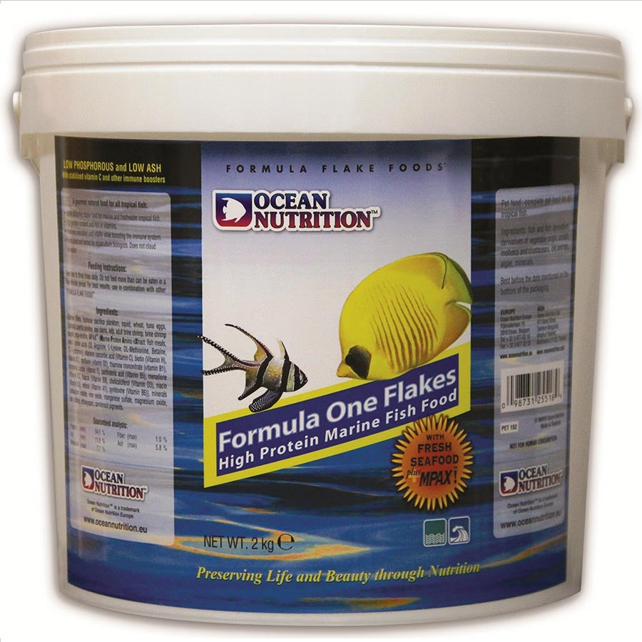 Ocean Nutrition Formula One Flake 2kg Bucket
