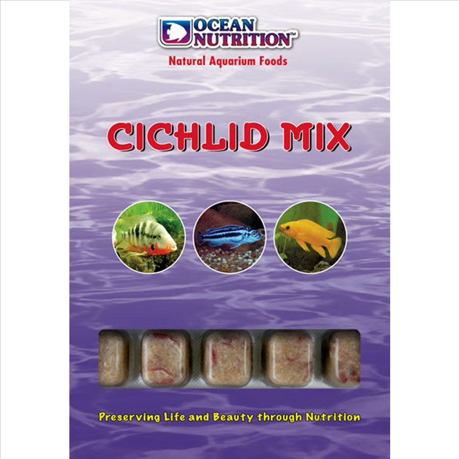 Ocean Nutrition Frozen Cichlid Mix - In Store Pick up only!