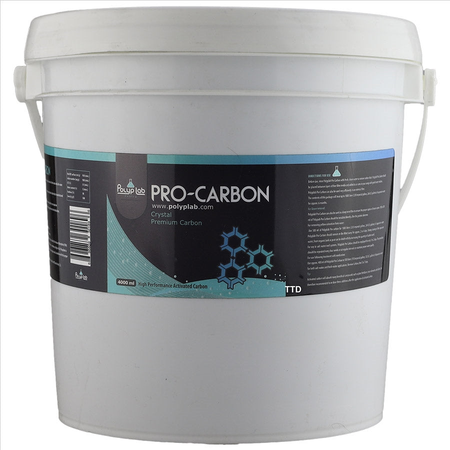 Polyp Lab Pro Carbon 4000ml (4L) High Performance Activated Carbon