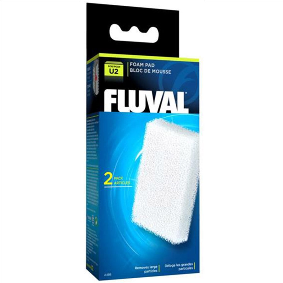 Fluval U2 Internal Filter Replacement Foam Sponge 2 Pack