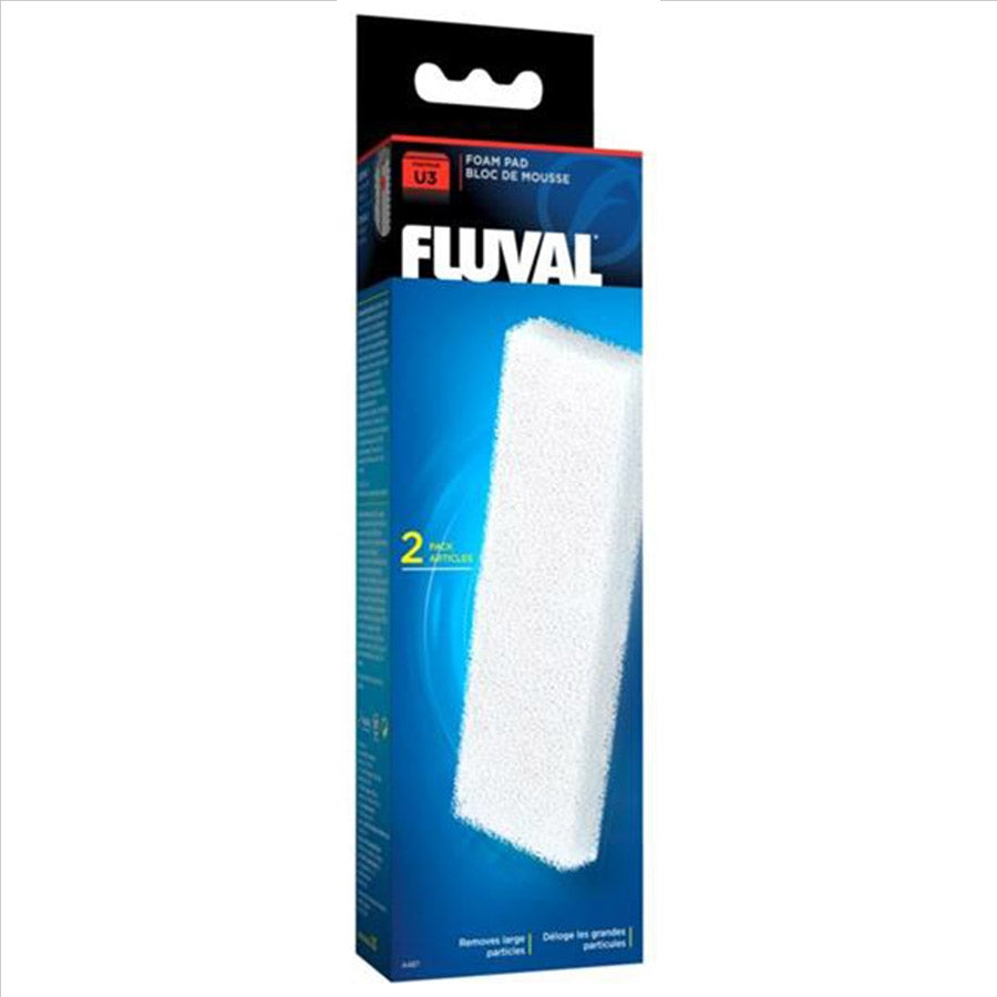 Fluval U3 Internal Filter Replacement Foam Sponge 2 Pack