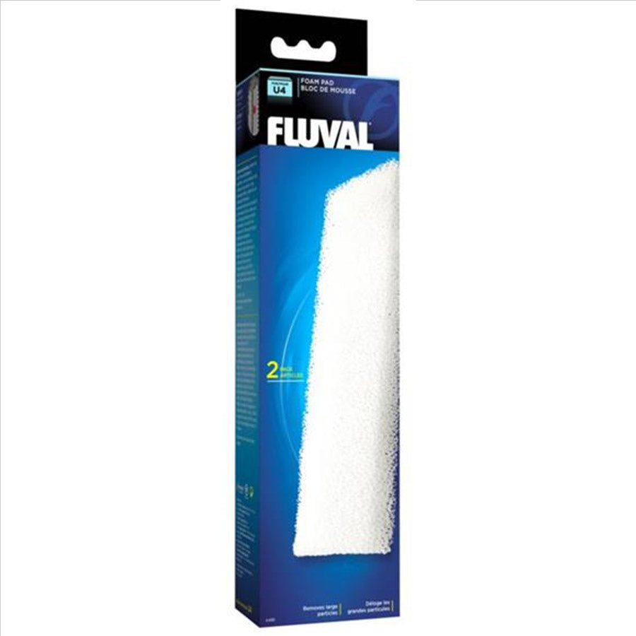 Fluval U4 Internal Filter Replacement Foam Sponge 2 Pack