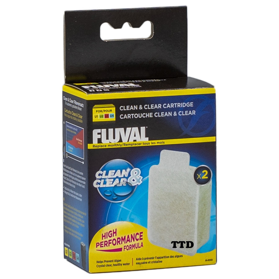 Fluval U1, U2, U3, U4 Clean and Clear Cartridge