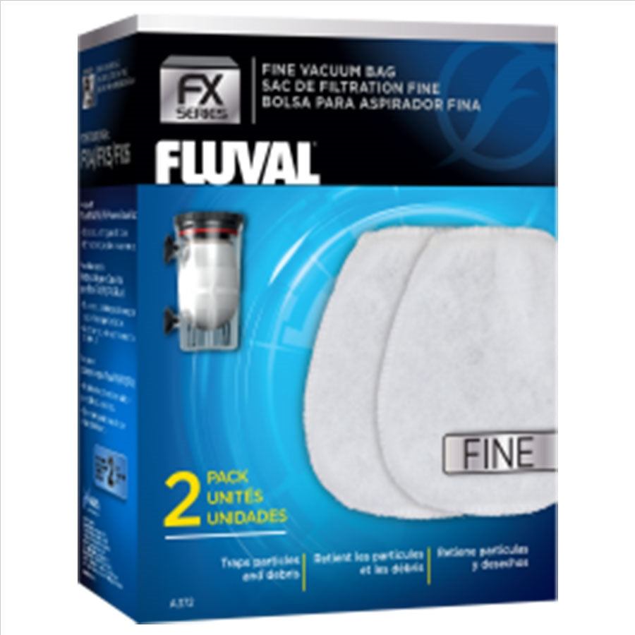 Fluval Replacement Fine Replacement Bags - Pack of 2
