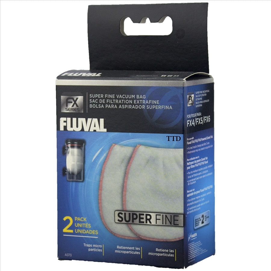 FLuval Replacement Super Fine Replacement Bags - Pack of 2