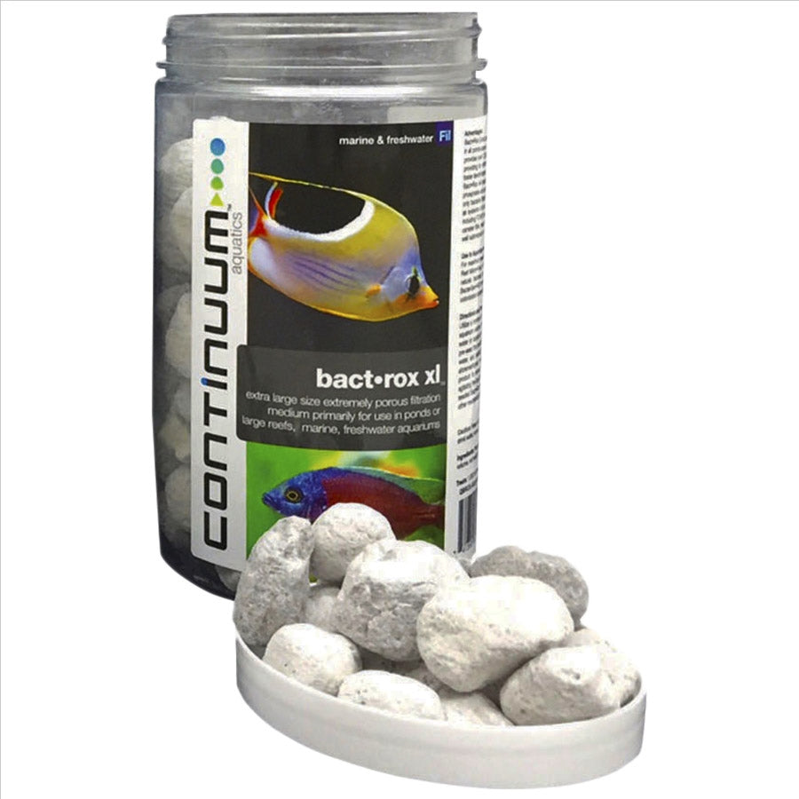 Continuum Aquatics Bact-Rox Extra Large 2 litre Bact Rox Filter Media