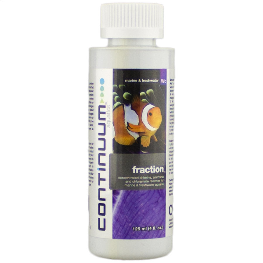 Continuum Aquatics Fraction 125ml - Removes Chlorine