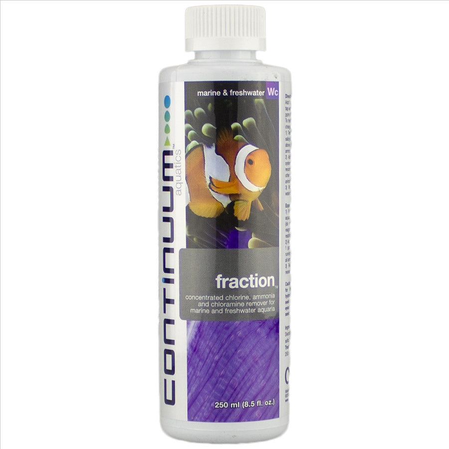 Continuum Aquatics Fraction 250ml - Removes Chlorine